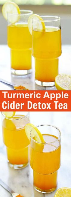 Turmeric and Apple Cider Vinegar Detox Tea healthy detox tea made with turmeric. - Turmeric and Apple Cider Vinegar Detox Tea healthy detox tea made with turmeric apple cider vinegar and honey. A beverage that you can drink daily - Detox Tea Diet, Detox Diet Drinks, Detox Juices, Detox Foods, Detox Smoothies, Smoothie Diet, Apple Cider Vinegar Remedies, Apple Cider Vinegar Detox, Apple Cider Vinegar For Weight Loss
