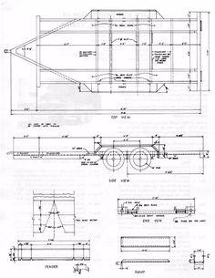 planos para fabricar trailer,acoplados o batan 2017