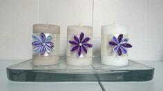 #flowers  #fiori  #candele  #candles #homedecor  #homemade #decoration #decorazione