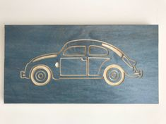 VW Beetle cut on the Shapeoko