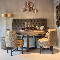 Dining Room Table Decor, Kitchen Dinning, Living Room Kitchen, Kitchen Decor, Room Decor, Home Design, Home Interior Design, Sweet Home, New Homes