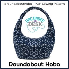 Roundabout Hobo PDF Sewing Pattern