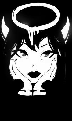 777 by Cheratoi Bendy And The Ink Machine, Vintage Cartoon, Cartoon Art, Art Sketches, Art Drawings, Arte Peculiar, Alice Angel, Gothic Anime, Goth Art