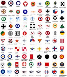 Air Force Roundels past to present Military Ranks, Military Insignia, Military Gifts, Military Aircraft, Car Brands Logos, Ps Wallpaper, Airline Logo, Ww2 Planes, Liberia