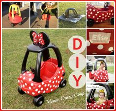Diy Minnie mouse coupe !