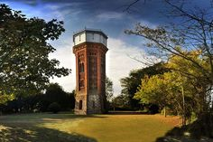 The Landmark Trust: Holiday at Appleton Water Tower, Sandringham, Norfolk Tower Garden, England And Scotland, Water Tower, Water Supply, Water Tank, Norfolk, Places To Visit, Trust, Uk Trip