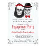 Halloween Engagement Party Invitation | Skulls #weddinginspiration #wedding #weddinginvitions #weddingideas #bride