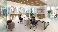 We create beautiful workplace solutions that encourage interaction and collaboration, allowing your employees to be more happy and productive.  When people feel better — they work better. Inspire and stimulate your employees by getting rid of cubicles and other barriers to interaction.