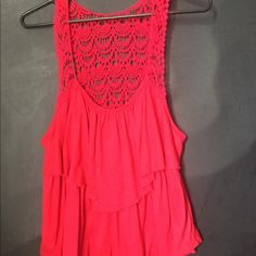 5f56898ea52eb Large Cato red top Size Large Cato top. Beautiful!! Cato Tops Tank Tops