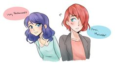 miraculous ladybug   Tumblr  They are my second fav ship!!!!