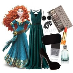 Disney Prom: Merida