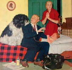 dick sargent - doctor making house call