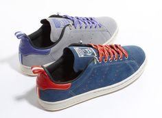 Adidas Originals Suede Stan Smith 80s