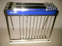EXCEL Double neck Pedal Steel Guitar played by John Heinrich....www.johnheinrich.net