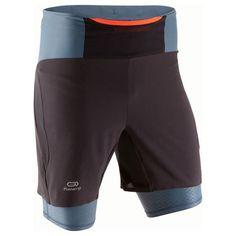 Kanergy Trail Running Men's Baggy Shorts - Black/Grey