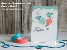 Stampin' Up! - Weather Together - Umbrella Framelits - Swirly Bird - Valerie Moody; Independent Stampin' Up! Demonstrator. X