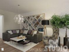 Salon w stylu skandynawskim Salon - zdjęcie od MIKOŁAJSKAstudio - Homebook.pl