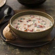 Fire Roasted Tomato-Basil Crab Bisque