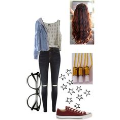 Free time. by nataliesky on Polyvore featuring River Island, Converse and MTWTFSS Weekday