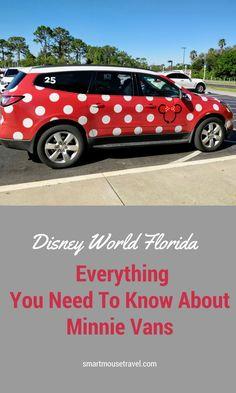 Minnie Vans are the newest transportation option at Disney World. Find when this pay service is really worth it in my Minnie Van review. #minnievan #disneyworld #disneyworldplanning