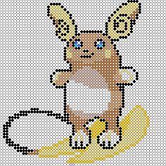 pixel art en perle hama: pokemon lune et pokemon soleil en perles à repasser