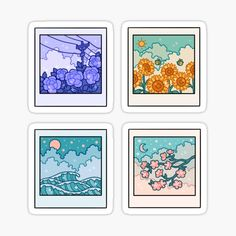 Diy Sticker, Stickers Cool, Tumblr Stickers, Anime Stickers, Kawaii Stickers, Preppy Stickers, Sticker Ideas, Journal Stickers, Planner Stickers