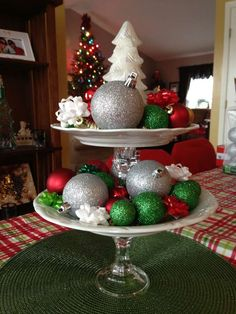 Red and Green Christmas/Holiday Party Ideas