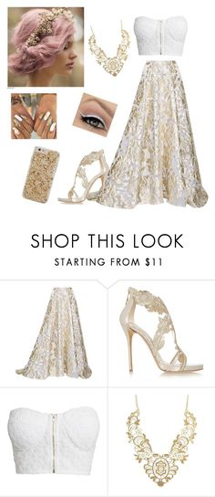 """""""#322"""" by mildabas ❤ liked on Polyvore featuring Lela Rose, Oscar de la Renta, NLY Trend, Charlotte Russe and Case-Mate"""