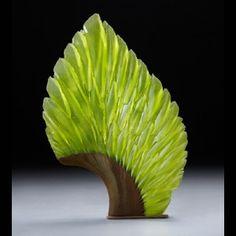 The work of Alex Bernstein art glass sculpture.