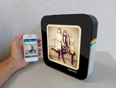 Imagina só um porta-retrato que exibe fotos do Instagram em tempo real. Sim, ele existe! Mas por enquanto é apenas um Protótipo