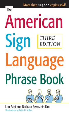 The American Sign Language Phrase Book - all 402 pages