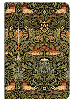William Morris wallpaper  Raspberry Bramble terra cotta. morris design  William Morris