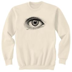 Third Eye Art Sweatshirt Ultra Cotton Small - 2XL. $24.95, via Etsy.