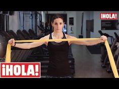 ▶ Ejercicios con bandas elásticas para brazos en 4 minutos - YouTube