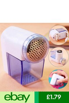 New Portable Clothes Fabric Shaver - Electric Lint Remover Lint Shaver Remove Lint From Clothes, How To Remove Lint, Lint Remover, Nespresso, Coffee Maker, Kitchen Appliances, Cleaning, Ebay
