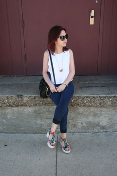 Back to the Basics: Creating fashionable outfits with wardrobe staples!   Only on Five Foot and Fabulous!