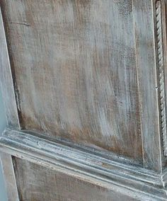 How to Distress - 8 different Techniques explained -- includes metallic glazes for antiquing furniture