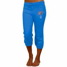 Oklahoma City Thunder Ladies Sweatpants- Light Blue <3