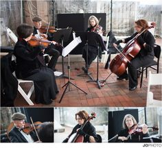 String quartets wedding music in Knoxville TN. Contact Special Notes Entertainment for wedding music and Knoxville DJs.
