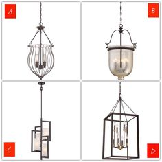 Which foyer pendant would you recommend? Quoizel Lighting, Foyer Lighting, Pendant Lighting, Chandelier, Ceiling Lights, Instagram Posts, Home Decor, Candelabra, Decoration Home