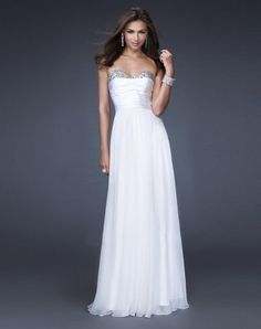 $156 Bridesmaids dress... i love the flair on top a litte bit of glitz...would like this in a dark purple