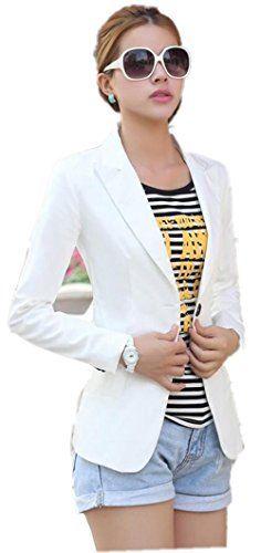$16.49 Jzoeoeu Women's Blazer Casual Long Sleeve Slim Office Suits Coats Overcoat Jzoeoeu http://www.amazon.com/dp/B00SG52UHC/ref=cm_sw_r_pi_dp_IJLDvb1XNQSP1