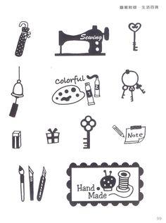 Handmade Eraser Stamp Step by Step craft book by MeMeCraftwork