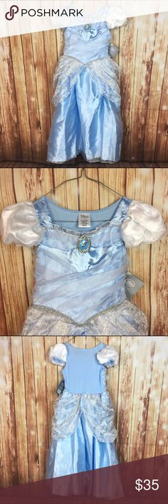 Disney Store Cinderella Princess Dress Costume Size: Girls 7 / 8  Brand: Disney Store Character: Cinderella Condition: New with tags 