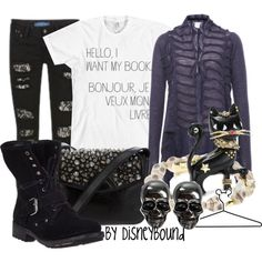 """""""Hocus Pocus"""" by lalakay on Polyvore #disney. Hahaha """"I want my book, bonjour"""" I love that part"""