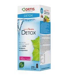 MTD Detox, bringebær-tranebær- ORTIS Sissi, Detox, Allergies, Personal Care, Velvet, Personal Hygiene