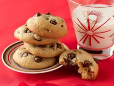 What's baking? Delicious and easy-to-make Chocolate Chip Cookies.