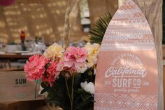 Surf Kids Birthday Decoration for a luxury party in Pampelone Beach - St Tropez Surfer Party, Courchevel 1850, Birthday Decorations, Table Decorations, Kids Events, Bar Mitzvah, Surfing, Beach, Christmas