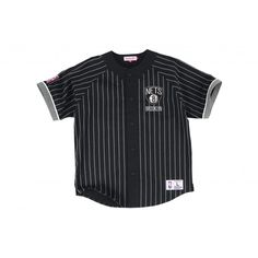premium selection b630d ec13a Button Front Jersey Brooklyn Nets Mitchell   Ness Nostalgia Co.