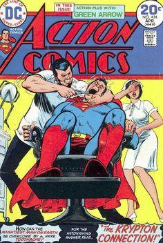 Superman Sometido por un Odontólogo! ¿Qué les parece?